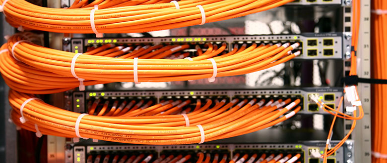 Lynwood California On Site Networks, Voice and High Speed Data Cabling Solutions